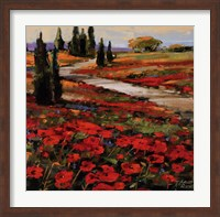 Hills In Bloom I Fine Art Print
