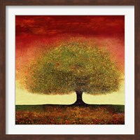 Dreaming Tree Red Fine Art Print