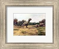 T Rex Posture Fine Art Print