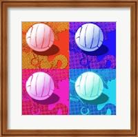 Volleyball Pop Fine Art Print