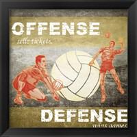 Offense, Defense Fine Art Print