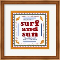 Beach Surf Fine Art Print