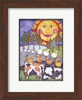 Old MacDonald Cows Fine Art Print