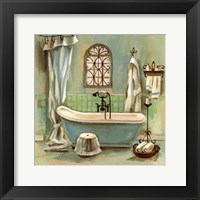 Glass Tile Bath I Fine Art Print