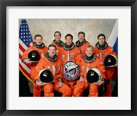 Atlantis STS-106 Crew Fine Art Print