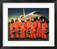 STS 121 Crew Portrait Fine Art Print