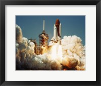 Space Shuttle Challenger Fine Art Print