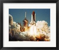 Space Shuttle Challenger Fine Art Print