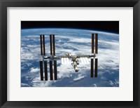 STS-126  ISS Flyaround Fine Art Print