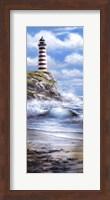 Red Lighthouse Fine Art Print