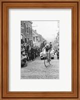 Jaap Kersten in Geraardsbergen Tour de france 1961 Fine Art Print