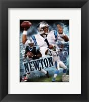 Cam Newton 2011 Portrait Plus Fine Art Print