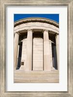 World War Two Memorial, Atlantic City, New Jersey, USA Fine Art Print