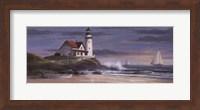 Lighthouse at Dusk Fine Art Print