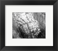 As the Hoover Dam forms Fine Art Print