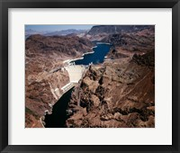 Above Hoover Dam near Boulder City, Nevada Fine Art Print
