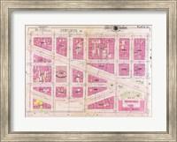 1909 map of Downtown Washington, D.C. Fine Art Print