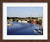 Orleans harbor, Cape Cod, Massachusetts Fine Art Print