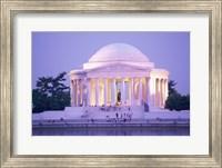 Jefferson Memorial at dusk, Washington, D.C., USA Fine Art Print