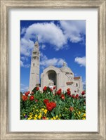 Basilica of the National Shrine of the Immaculate Conception, Washington D.C., USA Fine Art Print