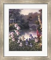Summer Garden Triptych 1 Fine Art Print