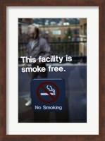 No Smoking - smoke free Fine Art Print