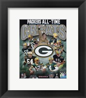 Green Bay Packers All Time Greats Composite Fine Art Print