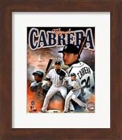 Miguel Cabrera 2011 Portrait Plus Fine Art Print