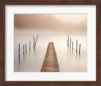 Lake Walk I Fine Art Print