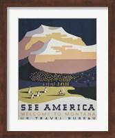 See America Welcome to Montana Fine Art Print