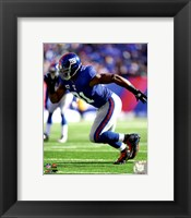 Justin Tuck 2011 Action Fine Art Print