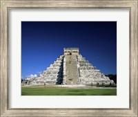 Pyramid, El Castillo, Chichen Itza Mayan, Yucatan, Mexico Fine Art Print