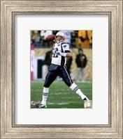 Tom Brady 2011 throwing the ball Fine Art Print