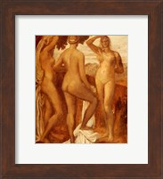 Watts George Frederic The Judgement Of Paris Fine Art Print