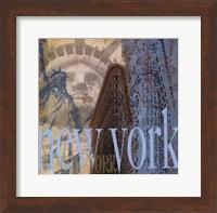 New York -Mini Fine Art Print