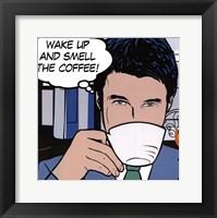 Java comic  I - mini Fine Art Print