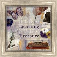 Learning Treasure - mini Fine Art Print