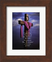 I Asked Jesus - Photo Fine Art Print
