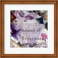 Source of Experience - mini Fine Art Print