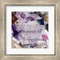 Source of Experience - mini Fine Art Print