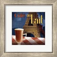 Cafe au Lait - mini Fine Art Print