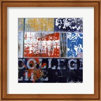 College Life - mini Fine Art Print
