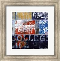 College Life - mini Fine Art Print