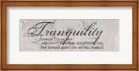 Tranquility Defined - mini Fine Art Print