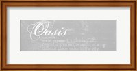 Oasis Defined - mini Fine Art Print