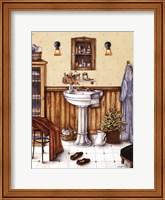 His Bathroom Fine Art Print