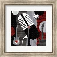 Rock n' Roll Mic Fine Art Print
