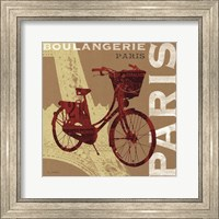 Cycling in Paris Fine Art Print