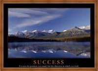 Success - mountains Fine Art Print