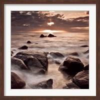 Midnight Sunrise Fine Art Print
